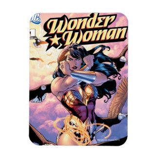 Imán Flexible Cubierta cómica #1 de la Mujer Maravilla