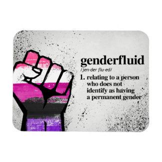 Imán Flexible Definición de Genderfluid - términos definidos de