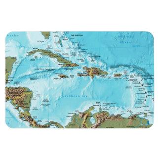 Imán Flexible El del Caribe (mapa)