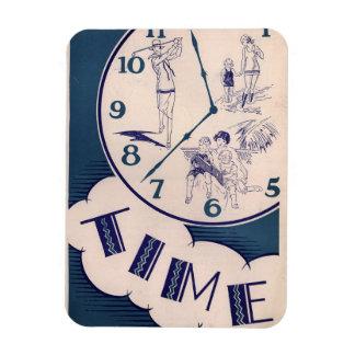 Imán Flexible El vintage tarda tiempo