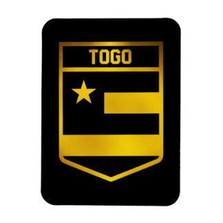 Imán Flexible Emblema de Togo