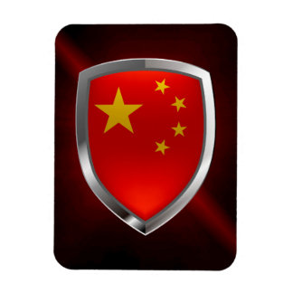 Imán Flexible Emblema metálico de China