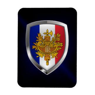 Imán Flexible Emblema metálico de Francia