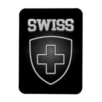 Imán Flexible Emblema suizo