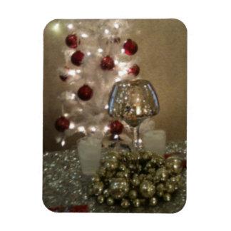 Imán Flexible Fiesta de cena de navidad
