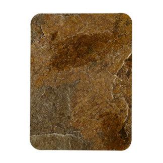 Imán Flexible Fondo de piedra de la pizarra - espacio en blanco
