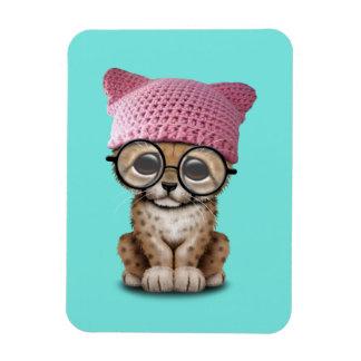 Imán Flexible Gorra del gatito de Cub del guepardo que lleva