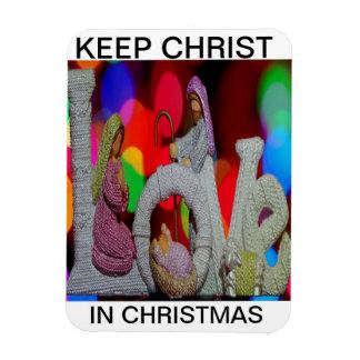 Imán Flexible Guarde el navidad de Cristo n con la natividad y