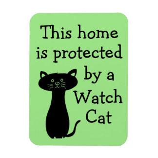 Imán Flexible Guárdese del gato del reloj