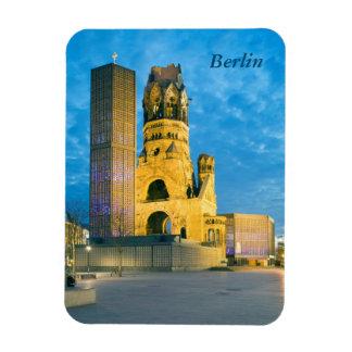 Imán Flexible Iglesia conmemorativa de Kaiser Wilhelm, Berlín