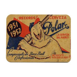 Imán Flexible Iman de Nevera Anuncio Vintage Cuba Polar