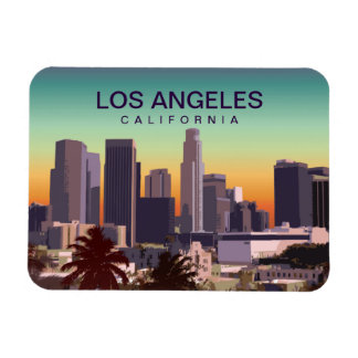 Imán Flexible L.A. céntrico California