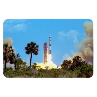 Imán Flexible Lanzamiento de la NASA Apolo 16 Saturn V Rocket