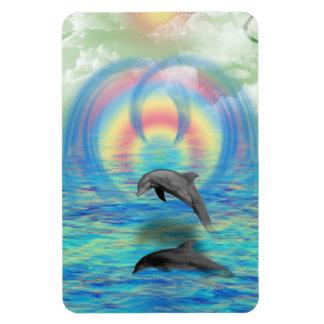 Imán Flexible Levantamiento del delfín