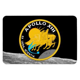 Imán Flexible Logotipo del remiendo de la misión de la NASA de