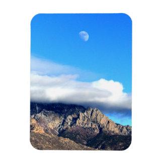 Imán Flexible Luna y nubes sobre Sandias