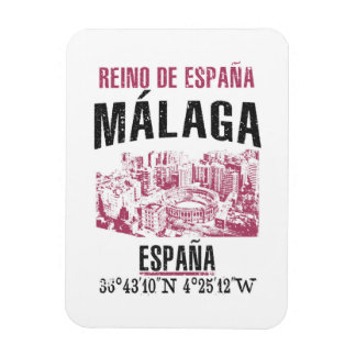 Imán Flexible Málaga