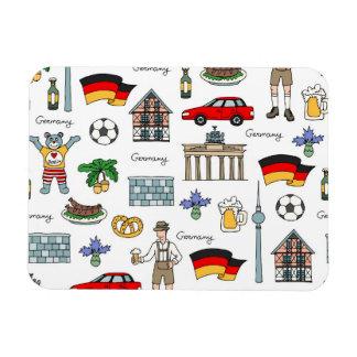 Imán Flexible Modelo de los símbolos de Alemania el |