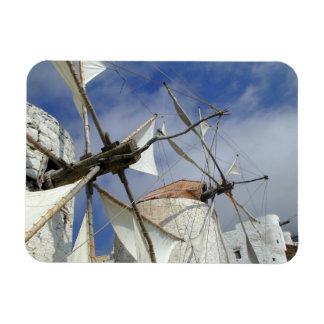 Imán Flexible Molinoes de viento viejos Olympos Karpathos,