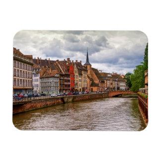 Imán Flexible Muelle del Saint Nicolas en Estrasburgo, Francia