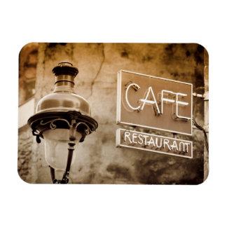 Imán Flexible Muestra del café de la sepia, París, Francia