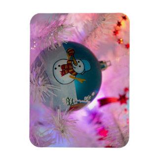 Imán Flexible Muñeco de nieve - bolas del navidad - Felices