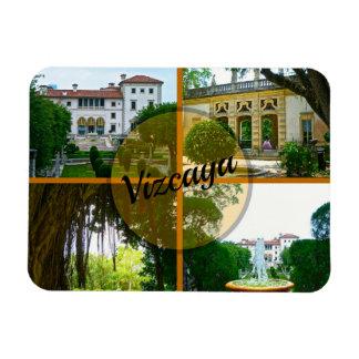 Imán Flexible Museo y jardín botánico Miami la Florida de