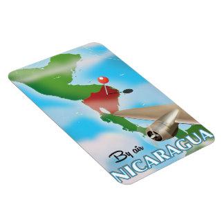 Imán Flexible Nicaragua por el poster de las vacaciones del aire