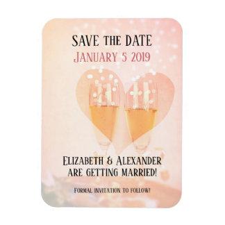 Imán Flexible Nueva reserva de la boda del principio del Año