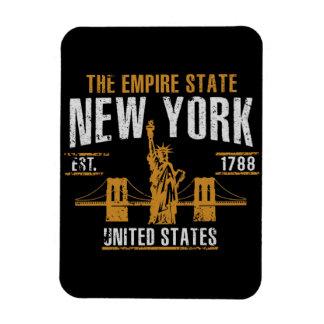 Imán Flexible Nueva York     , vintage, retro, América, Estados