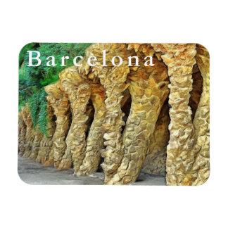 Imán Flexible Parque Güell. Columnas de Gaudi.