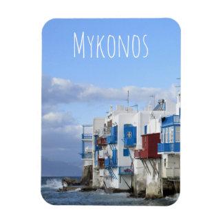 Imán Flexible Poca Venecia, Mykonos, Grecia