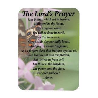 Imán Flexible Prayer del señor