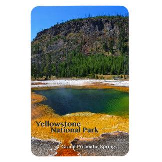 Imán Flexible ~ prismático magnífico Yellowstone, Wyoming de las