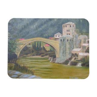 Imán Flexible Puente de Mostar