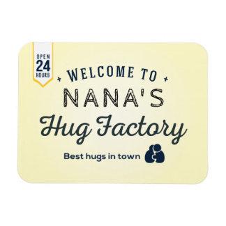 Imán Flexible Recepción a la fábrica del abrazo de NANA