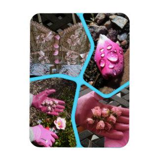 Imán Flexible Rosas del jardín