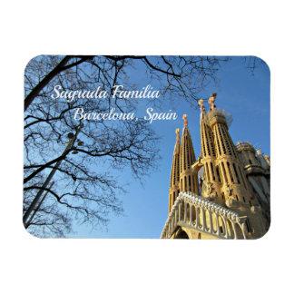Imán Flexible Sagrada Familia, Barcelona, España