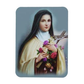 Imán Flexible St. Teresa del niño Jesús poca flor