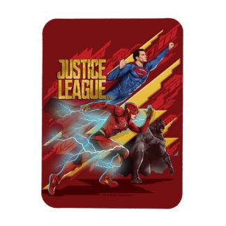 Imán Flexible Superhombre de la liga de justicia el |, flash, y