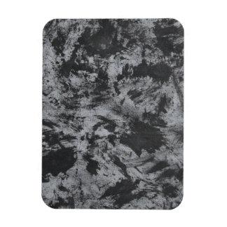 Imán Flexible Tinta negra en fondo gris