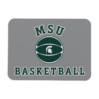 Imán Flexible Universidad de estado del baloncesto el | Michigan