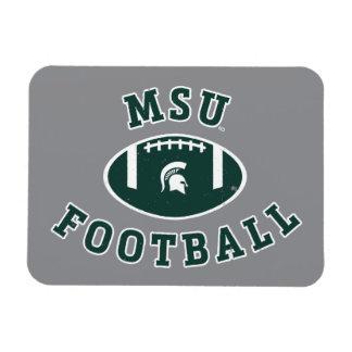 Imán Flexible Universidad de estado del fútbol el | Michigan de