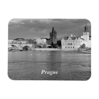 Imán Flexible Vista del puente de Charles en Praga