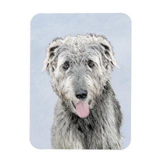 Imán Flexible Wolfhound irlandés