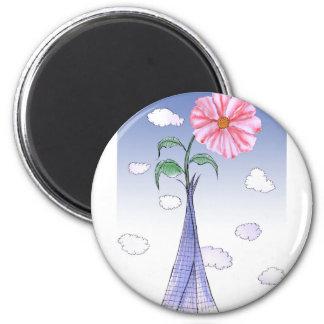 Imán Flower power de ShardArt de Tony Fernandes