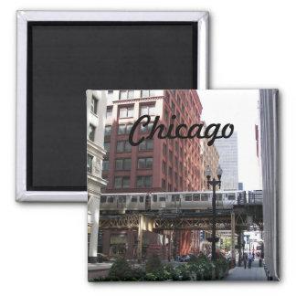 Imán Foto del viaje de Chicago