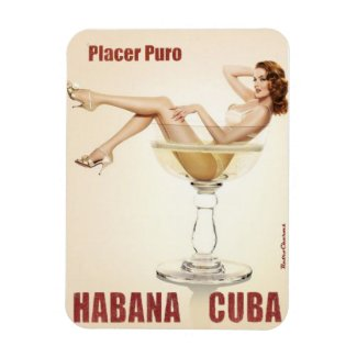 Iman frigorifico Cuba Vintage Puro Placer