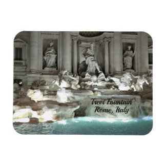 Iman Fuente del Trevi, Roma Italia