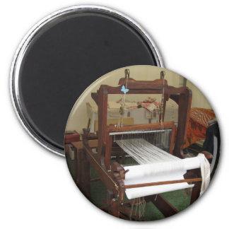 Imán Funcionamiento antiguo de la máquina del hilandero
